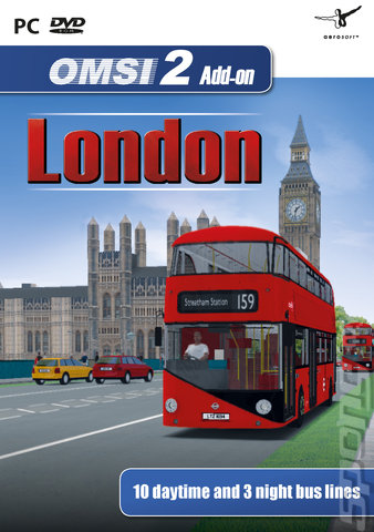 OMSI 2 Add-On: London - PC Cover & Box Art