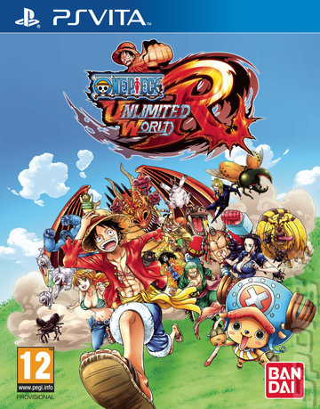 One Piece: Unlimited World: Red - PSVita Cover & Box Art