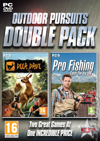 Outdoor Pursuits Double Pack: Deer Drive & Pro Fishing - PC Cover & Box Art
