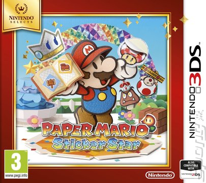 Covers & Box Art: Paper Mario: Sticker Star - 3DS/2DS (1 of 2)