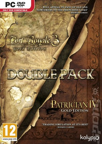 Patrician IV Gold Edition & Port Royale 3 Gold Edition Double Pack - PC Cover & Box Art