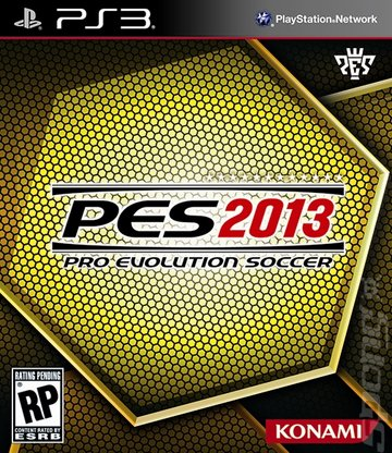 PES 2013 - PS3 Cover & Box Art