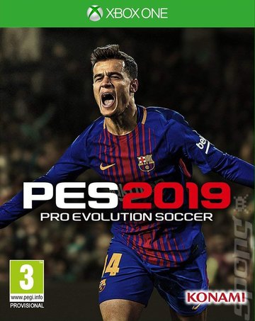 PES 2019 - Xbox One Cover & Box Art