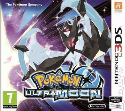Pok�mon Ultra Moon - 3DS/2DS Cover & Box Art