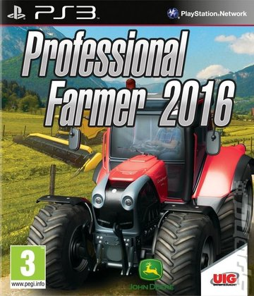 Professional Farmer 2016 - PS3 Cover & Box Art