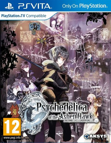 Psychedelica of the Ashen Hawk - PSVita Cover & Box Art