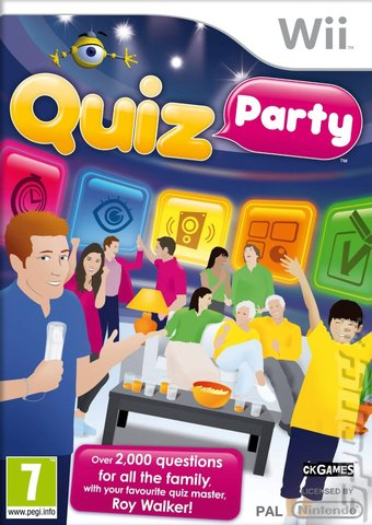 Quiz Party - Wii Cover & Box Art