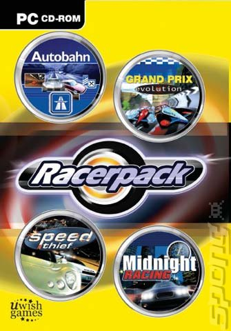 Racerpack - PC Cover & Box Art