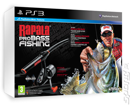 Covers box art rapala pro bass fishing ps3 1 of 2 for Ps3 fishing games