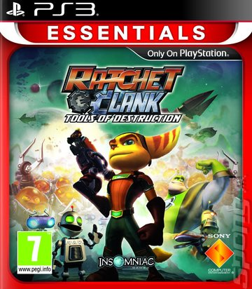 Covers Box Art Ratchet Clank Future Tools Of Destruction