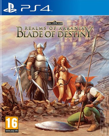Realms of Arkania Trilogy: Blade of Destiny - PS4 Cover & Box Art