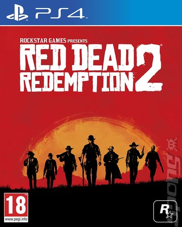 Red Dead Redemption 2 - PS4 Cover & Box Art