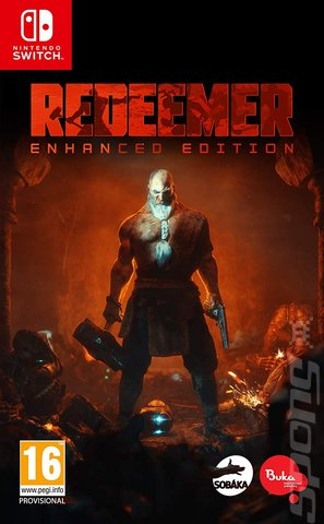 Redeemer - Switch Cover & Box Art