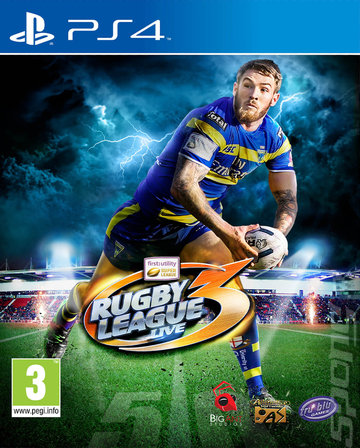 Rugby League Live 3 - PS4 Cover & Box Art