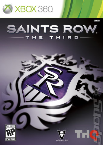 Saints Row: The Third - Xbox 360 Cover & Box Art