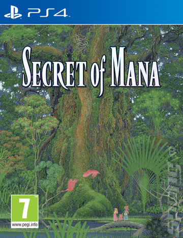 Secret of Mana - PS4 Cover & Box Art