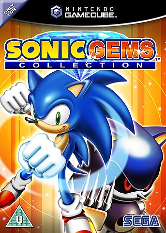 Sonic Gems Collection - GameCube Cover & Box Art