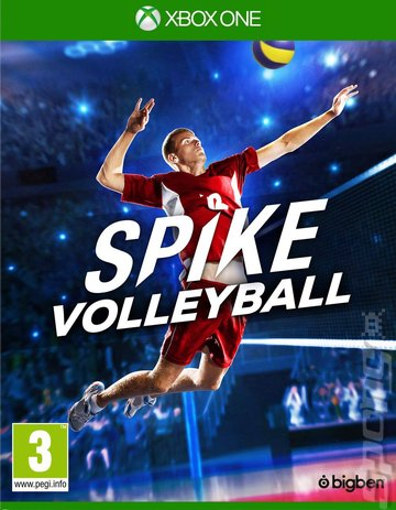Spike Volleyball - Xbox One Cover & Box Art