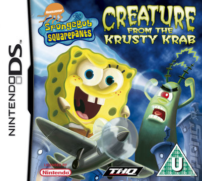 SpongeBob SquarePants: Creature from the Krusty Krab - DS/DSi Cover & Box Art