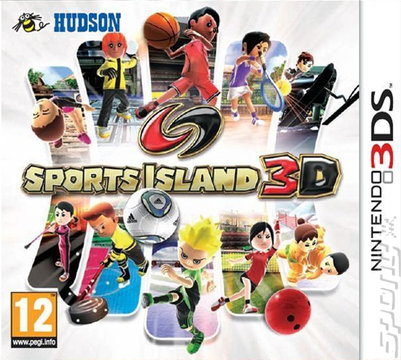 Sports Island 3D - 3DS/2DS Cover & Box Art