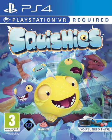 Squishies - PS4 Cover & Box Art