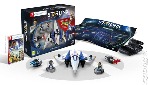 Starlink: Battle for Atlas - Switch Cover & Box Art