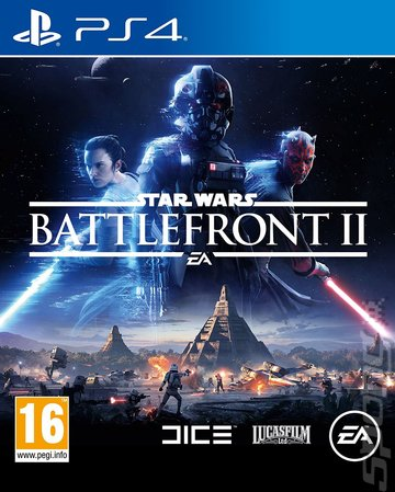 Star Wars: Battlefront II - PS4 Cover & Box Art
