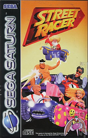 Street Racer - Saturn Cover & Box Art