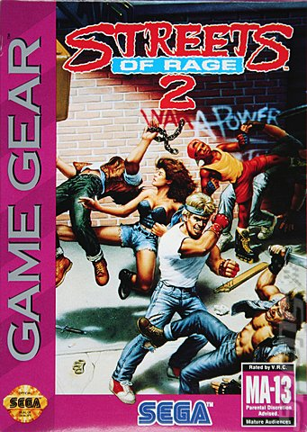 Street of Rage - Sega Genesis