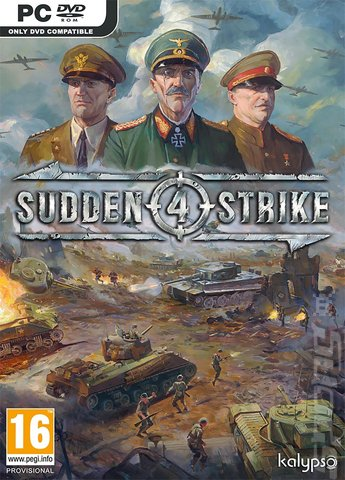 Sudden Strike 4 - PC Cover & Box Art