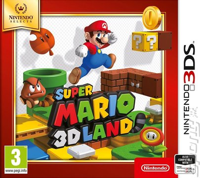Super mario 3d land game box - Best Nintendo 3DS Games