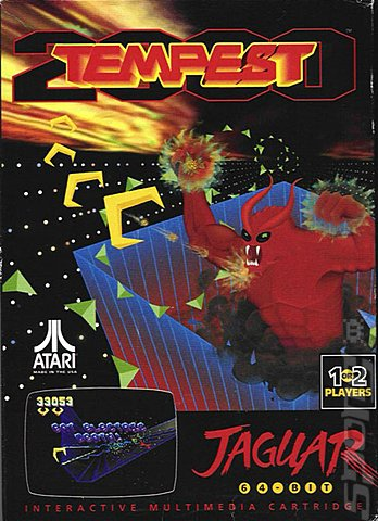 Tempest 2000 - Jaguar Cover & Box Art