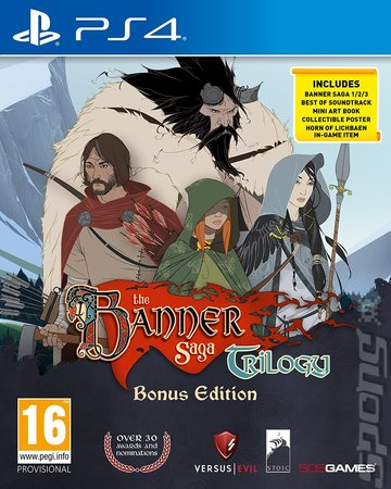 The Banner Saga Trilogy - PS4 Cover & Box Art