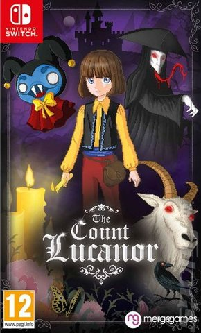 The Count Lucanor - Switch Cover & Box Art