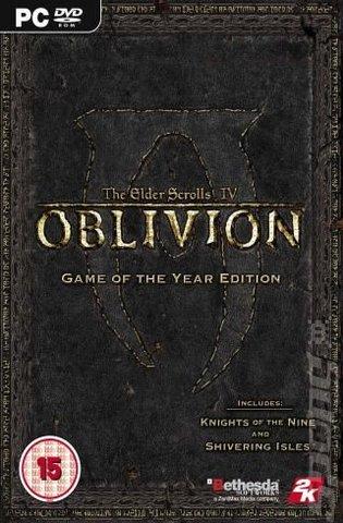 Covers & Box Art: The Elder Scrolls IV: Oblivion: Game of