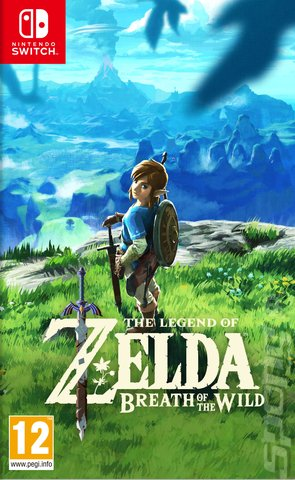 The Legend of Zelda: Breath of the Wild - Switch Cover & Box Art