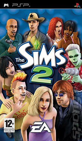 The Sims 2 - PSP Cover & Box Art