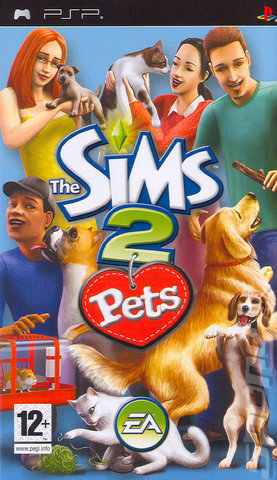 The Sims 2: Pets - PSP Cover & Box Art