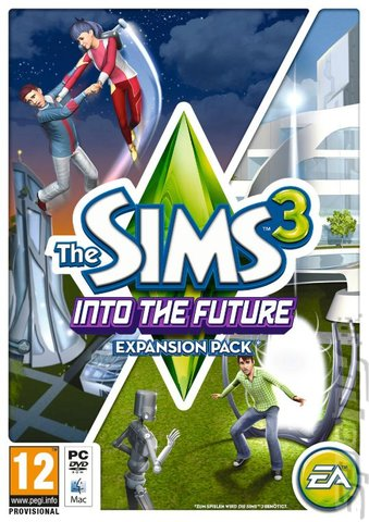 The Sims 3: Into the Future - Mac Cover & Box Art