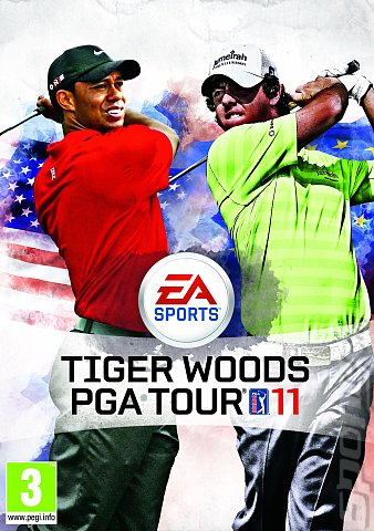 Tiger Woods PGA TOUR 11 - Xbox 360 Cover & Box Art