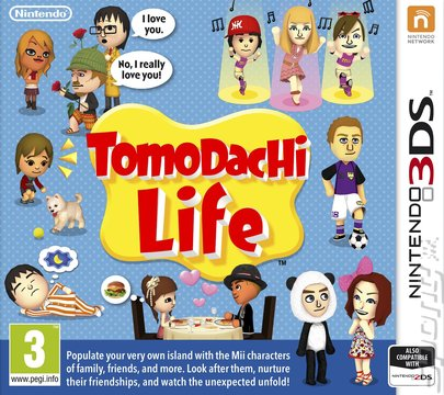 Tomodachi Life - 3DS/2DS Cover & Box Art