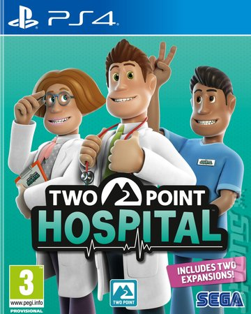 Two Point Hospital - PS4 Cover & Box Art