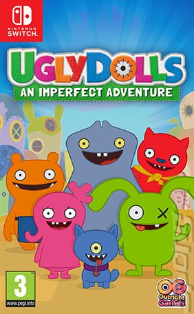 UglyDolls: An Imperfect Adventure - Switch Cover & Box Art