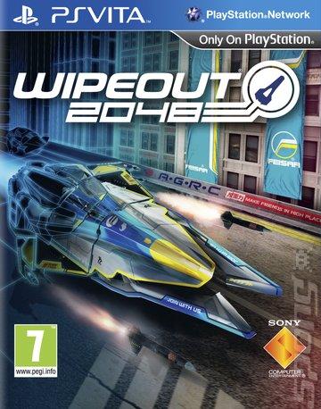Wipeout 2048 - PSVita Cover & Box Art