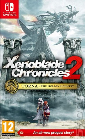Xenoblade Chronicles 2: Torna - The Golden Country - Switch Cover & Box Art