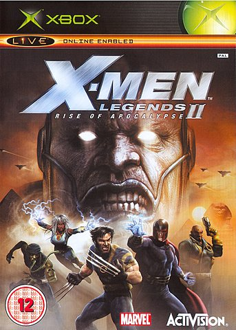 X-Men Legends II: Rise of Apocalypse - Xbox Cover & Box Art