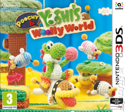 Poochy & Yoshi's Woolly World Editorial image