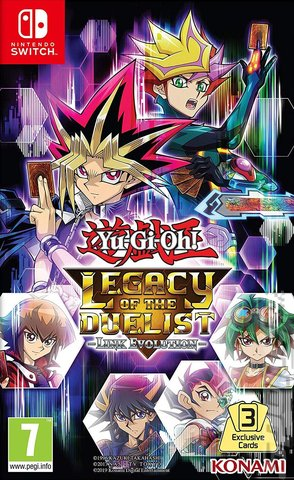 Yu-Gi-Oh! Legacy of the Duelist: Link Evolution - Switch Cover & Box Art