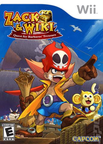 Zack & Wiki: Quest for Barbaros' Treasure - Wii Cover & Box Art
