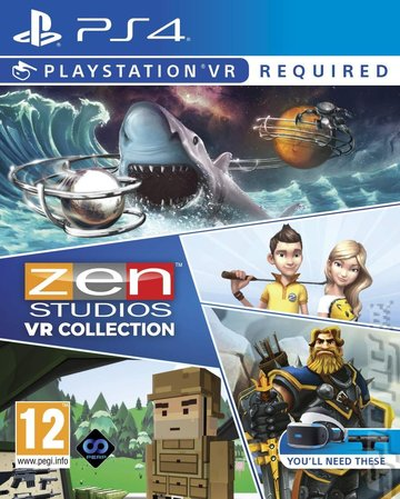 Zen Studios VR Collection - PS4 Cover & Box Art